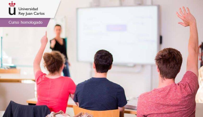 Curso online homologado sobre la pizarra digital como recurso didáctico