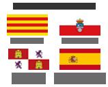 Convocatorias para: Cataluña, Cantabria, Castilla y León y Resto de Comunidades