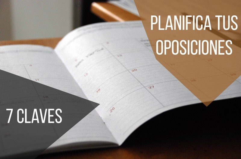 preparación de oposiciones 7 claves