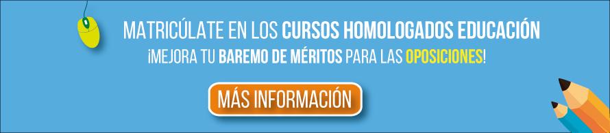 matriculate en cursos homologados online