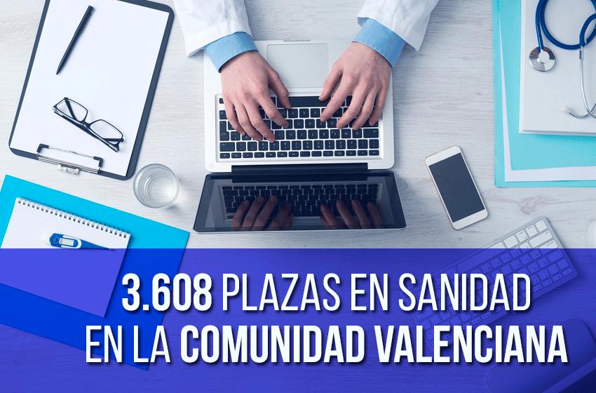 oposiciones sanidad 2016, comunidad valenciana