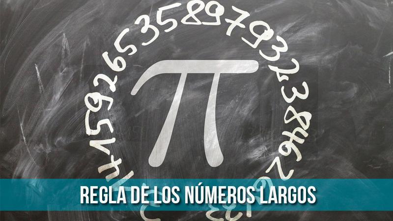 regla mnemotecnica numeros