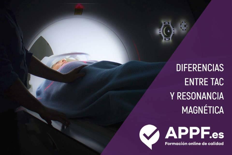 Diferencias entre TAC y Resonancia magnética