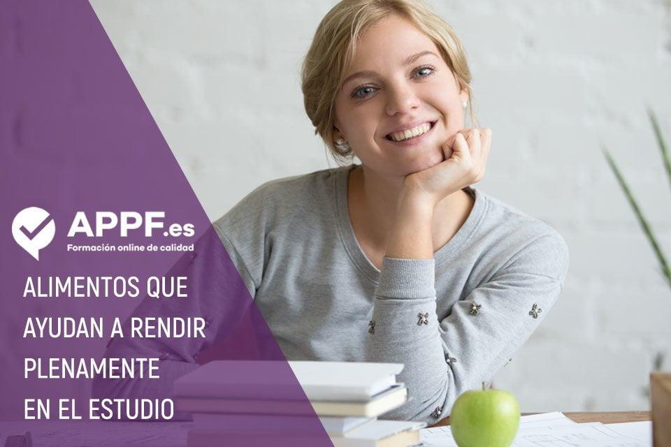 Alimentos que ayudan a estudiar mejor | Blog para opositores APPF