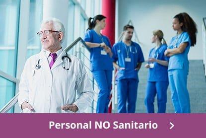 catálogo de cursos para personal no sanitario y oposiciones a Sanidad