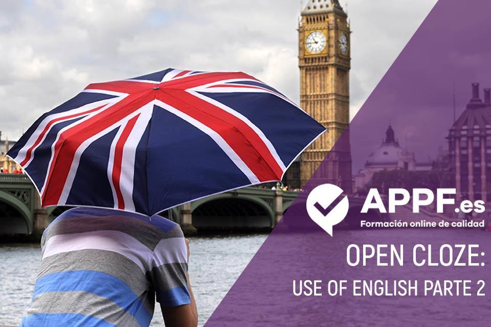 Use of English - Open Cloze