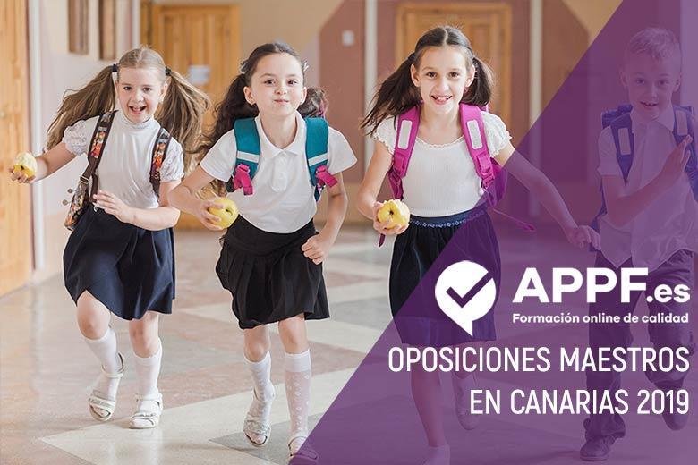 Oposiciones maestros canaias