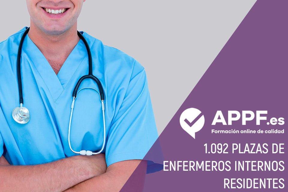 1.092 plazas de Enfermeros Internos Residentes