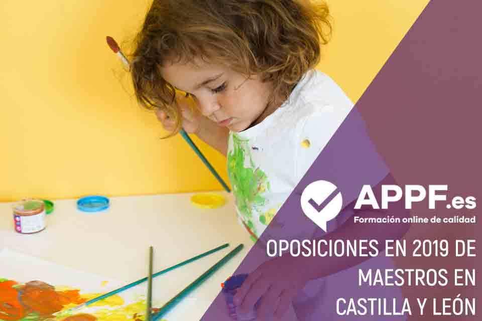 Oposiciones en 2019 de maestros en Castilla y León