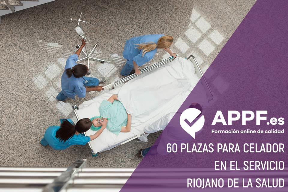 60 plazas para celador en el Servicio Riojano de la Salud
