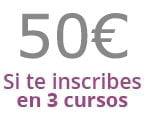 Cursos homologados a 50 euros