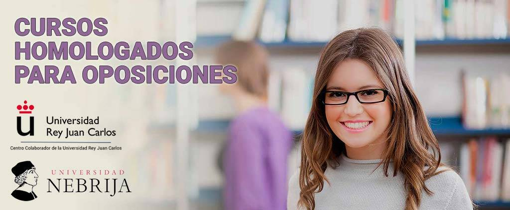 Cursos homologados online para oposiciones de Educación y Sanidad de APPF