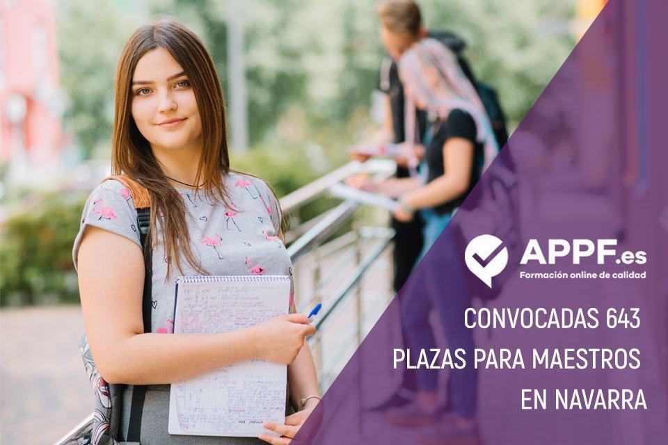 Convocadas 643 plazas de maestros en Navarra