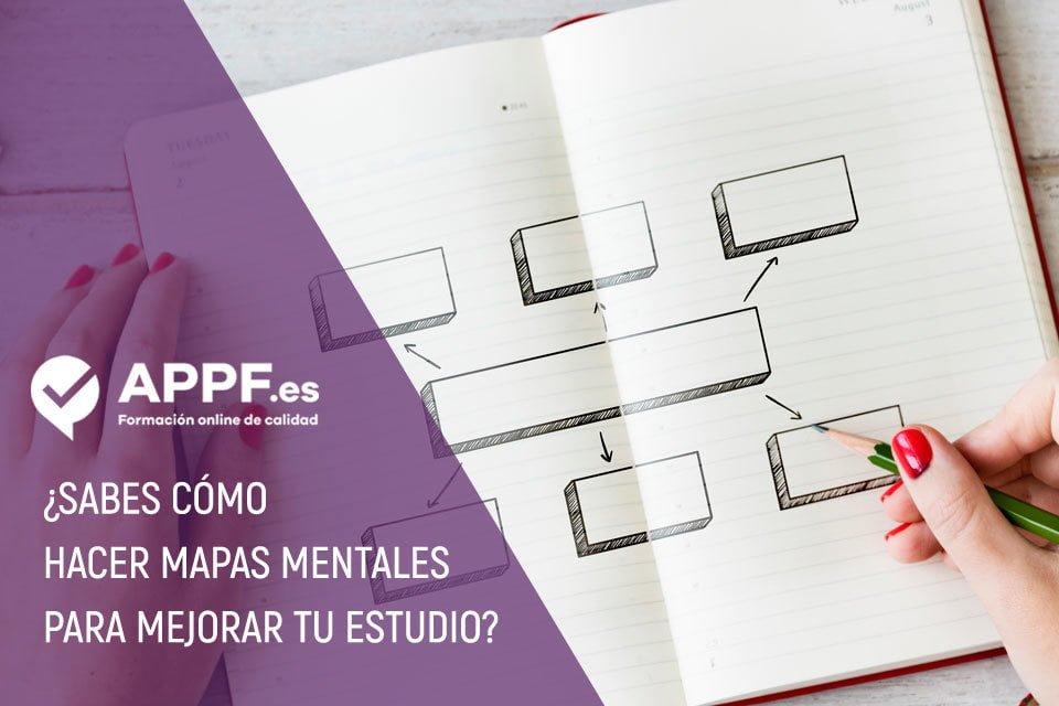 ¿Sabes cómo hacer mapas mentales para mejorar tu estudio?