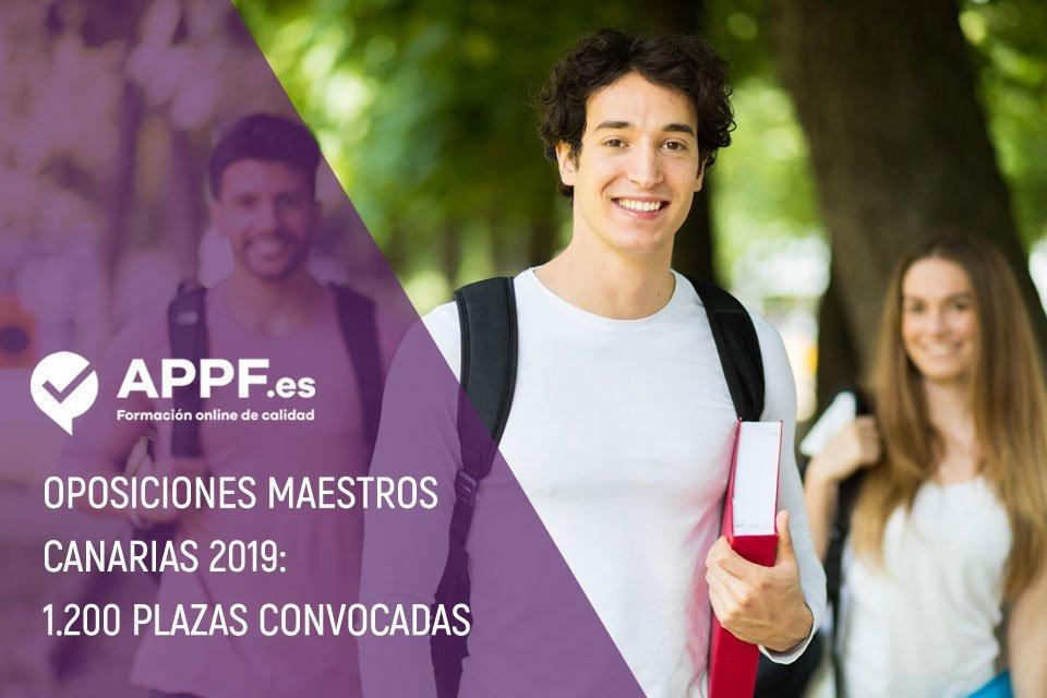 Oposiciones maestros Canarias 2019: 1.200 plazas convocadas