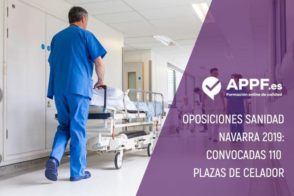 Oposiciones Sanidad Navarra 2019: convocadas 110 plazas de celador
