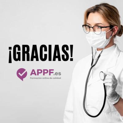 apoyo de appf a todo el personal sanitario | plataforma de formación